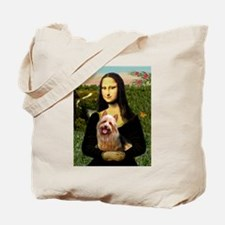 Mona & her Aussie Terrier Tote Bag