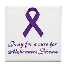 Alzheimers Tile Coaster