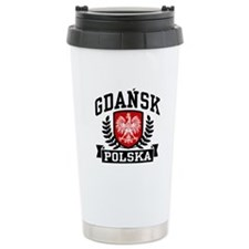Gdansk Polska Travel Mug