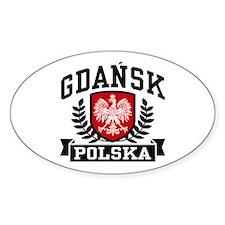 Gdansk Polska Decal