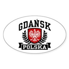Gdansk Polska Stickers