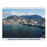 Cape town south africa Wall Calendars