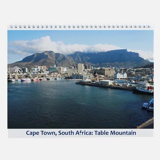 Cape Town Wall Calendar