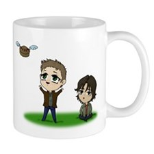 Flying Pie Mugs