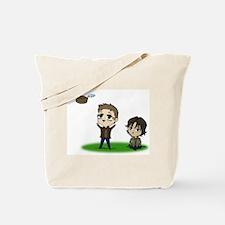 Funny Supernatural sam Tote Bag
