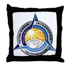 Total Force Integration Throw Pillow