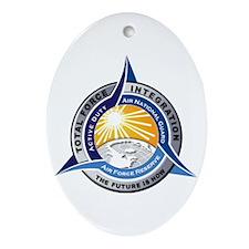 Total Force Integration Oval Ornament