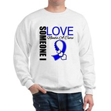 ALS Needs A Cure Ribbon Sweatshirt