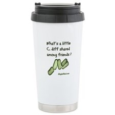 C. diff Among Friends Travel Mug