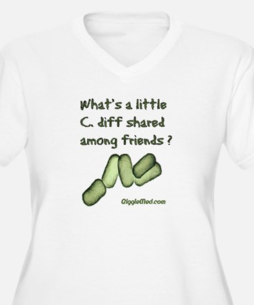 C. diff Among Friends T-Shirt