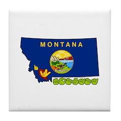 ILY Montana Tile Coaster