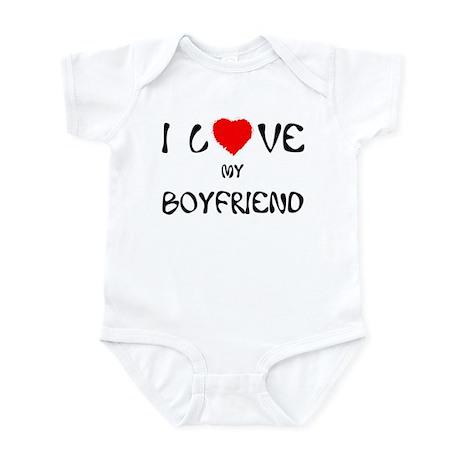 I Love My Boyfriend Infant Creeper