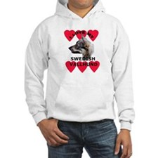 Swedish Vallhund Love Hoodie