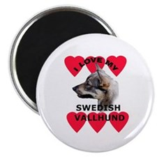 Swedish Vallhund Love Magnet