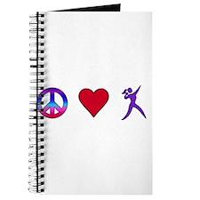Peace Love Shot Put Journal