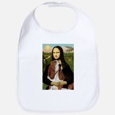 Mona and her Basset Bib