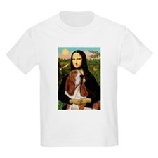 Mona and her Basset Kids T-Shirt