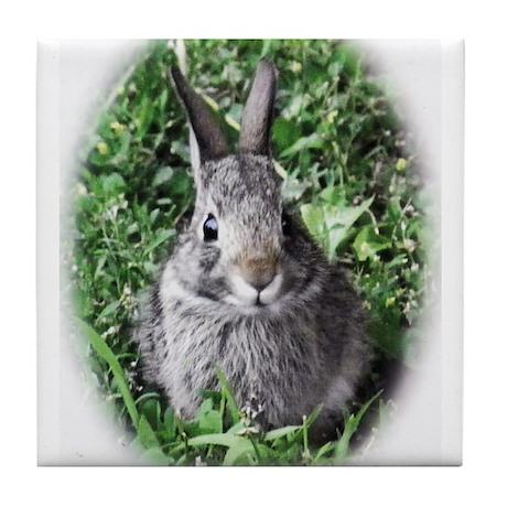 Baby Bunny Tile Coaster