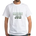 Jewish - Urban Jew - White T-Shirt
