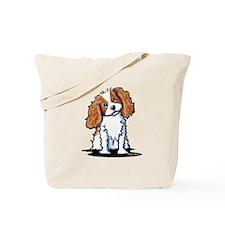 KiniArt CKC Spaniel Tote Bag
