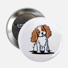 "KiniArt CKC Spaniel 2.25"" Button"