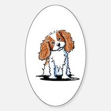 KiniArt CKC Spaniel Sticker (Oval 10 pk)