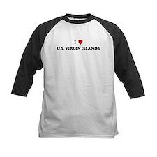 I Love U.S. Virgin Islands Tee