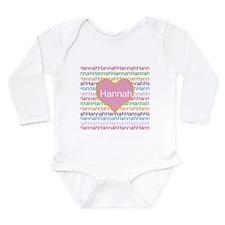 Hannah Long Sleeve Infant Bodysuit
