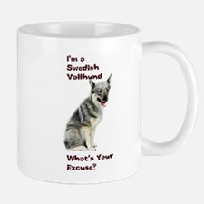 Swedish Vallhund Excuse Mug