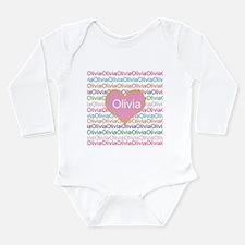 Olivia Long Sleeve Infant Bodysuit