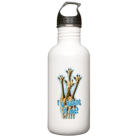 r u looking at me? Stainless Water Bottle 1.0L