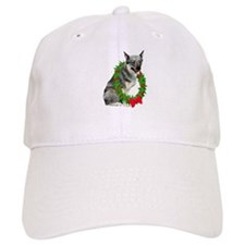 Swedish Vallhund Christmas Baseball Cap