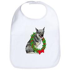Swedish Vallhund Christmas Bib