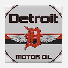 Detroit Motor Oil Tile Coaster