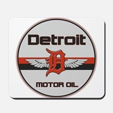 Detroit Motor Oil Mousepad