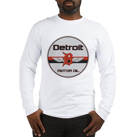 Detroit Motor Oil Long Sleeve T-Shirt