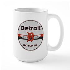Detroit Motor Oil Mug