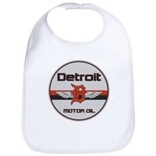 Detroit Motor Oil Bib