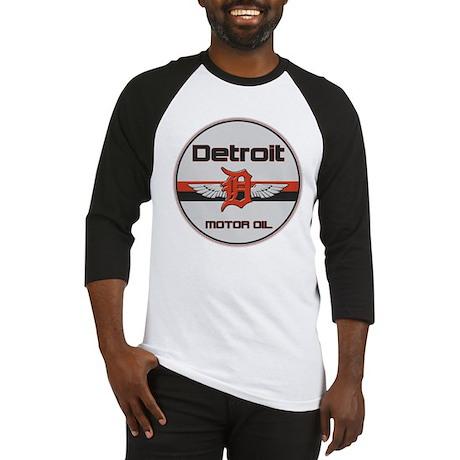 Detroit Motor Oil Baseball Jersey