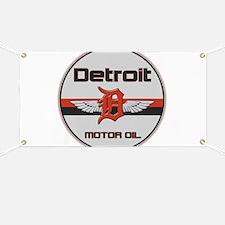 Detroit Motor Oil Banner