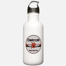 Detroit Motor Oil Water Bottle