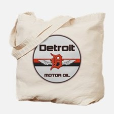 Detroit Motor Oil Tote Bag