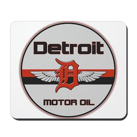 Detroit Motor Oil Mousepad