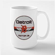 Detroit Motor Oil Large Mug