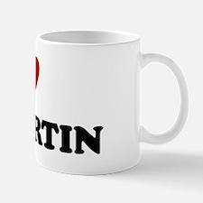 I Love St. Martin Mug