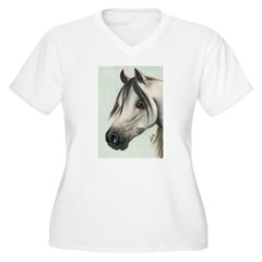 GREY ARAB HORSE T-Shirt