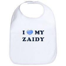 Jewish - I love my Zaidy - Bib