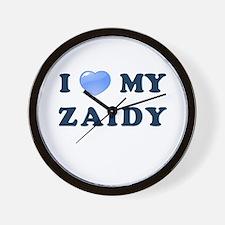 Jewish - I love my Zaidy - Wall Clock