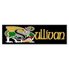 Sullivan Celtic Dragon Bumper Bumper Sticker