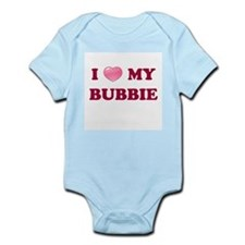 Jewish - I love my Bubbie - Infant Creeper